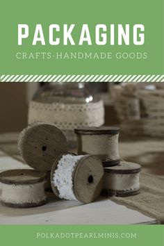 Etsy for beginners; how to package products.