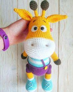 Giraffe Crochet, Crochet Bear, Crochet Gifts, Crochet Animals, Crochet Toys, Crochet Amigurumi Free Patterns, Crochet Animal Patterns, Stuffed Animal Patterns, Free Crochet
