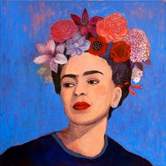 blue..Frida Kahlo