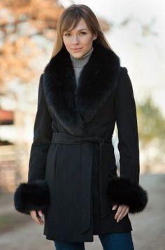 Women's Down Chalet Long Coat from Lands' End waaaaaaaaant for