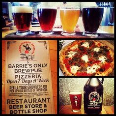 Have you discovered Barnstormers Brewing & Pizzeria yet? Locally crafted beer, amazing pizza & brewery tours, check it out! #visitbarrie #barrie #getoutandplay #BarrieRestaurants #pizza #beer tourismbarrie's photo on Instagram