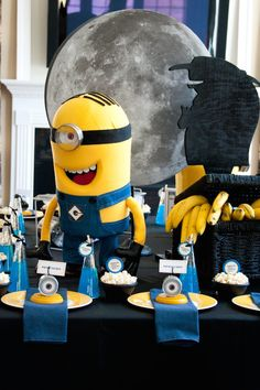Despicable Me Minion themed birthday party  #minion #minionparty #despicableme #despicablemeparty #partyideas #partyplanning #partydecor #partydesign (10)