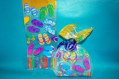 Flip Flop Cellophane Bag 12p