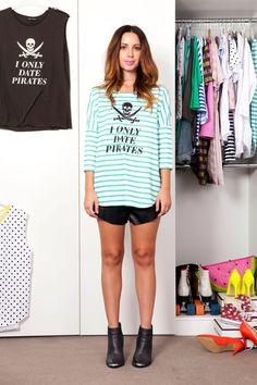 Love Fashion, Fashion Beauty, Fashion Trends, Every Girl, Pirates, Cool Style, Stripes, Chic, Stylish