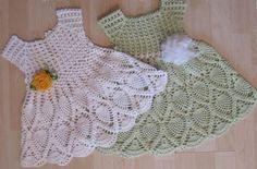 Crochet Free: Children's crochet dress # Crochet Free Websites