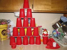 elf cup tower