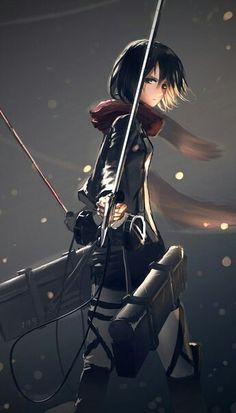 Mikasa Ackerman, Attack on Titan