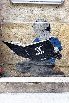 Paris 2 - rue mandar - street art - bansky.
