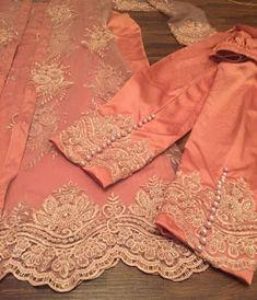 Discover thousands of images about Fashion's party wear 2019 Net Dresses Pakistani, Pakistani Dress Design, Pakistani Outfits, Indian Outfits, Punjabi Suits Party Wear, Party Wear Indian Dresses, Pakistani Party Wear, Wedding Dresses, Embroidery Suits Design