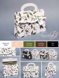 cards made with stampin up magnolia stamp Scrapbook Box, Photo Album Scrapbooking, Diy Gift Box, Diy Box, Diy Wedding Planning Checklist, Paper Bag Design, Paper Purse, Magnolia Stamps, Business For Kids