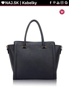Trendy kabelka do ruky Anastasia čierna AG00516 Trendy, Blues, Fashion, Moda, Fashion Styles, Fashion Illustrations