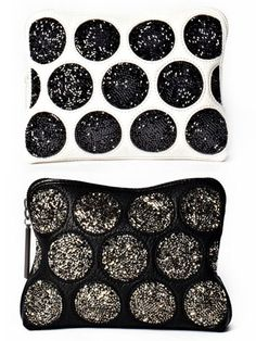 Seeing Spots  3.1 Phillip Lim 31-second pouch with crystal embroidery
