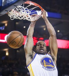 Golden State Warriors' Andre Iguodala dunks in the first period during Game 1 of The NBA Finals on Thursday, June 4, 2015 in Oakland, Calif. Photo: Scott Strazzante, The Chronicle