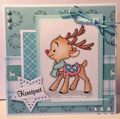 Cards Created by Mo: Kerstpret