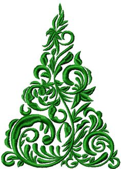 Christmas tree free embroidery design 2 - Christmas free embroidery - Machine embroidery community