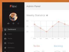 Flexi Admin ui by Agile Infoways