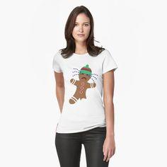 Lebkuchenmännchen ohne Fuß von ShirtGnom   Redbubble #rudolph #the #rednose #ugly #xmas #love #christmas #germany #weihnachten #merrychristmas #christmastime #advent #weihnachtsmarkt #spreadshirt #tshirt #fashion #style #hoodie #weihnachten #fashion #kidsfashion #lebkuchen #geschenkideen #geschenke #tannenbaum #schnee #schneemann Essentiels Mode, Vintage T-shirts, Soft Grunge, My T Shirt, Chiffon Tops, Online Shopping, Classic T Shirts, Shirt Designs, V Neck
