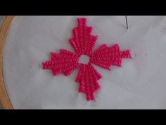 Today we make flowers with Kadai Kamal Stitch. I used DMC Embroidery Thread. Hand Embroidery Dress, Hand Embroidery Videos, Embroidery On Clothes, Embroidery Flowers Pattern, Embroidery Works, Hand Embroidery Stitches, Hand Embroidery Designs, Embroidery Techniques, Cross Stitch Embroidery