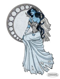 Corpse Bride : Emily by ~LaTaupinette on deviantART