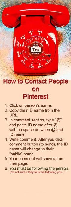 How to Contact Someone on Pinterest - how to tag someone on pinterest by cathleen
