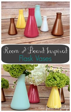 Room and Board 'Little Shirley' Inspired Vases   View From The Fridge
