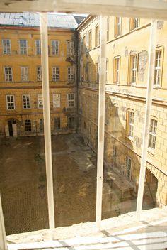 Courtyard | abandoned OPNI Hospital