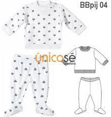 Resultado de imagen para pijamas de bebe moldes
