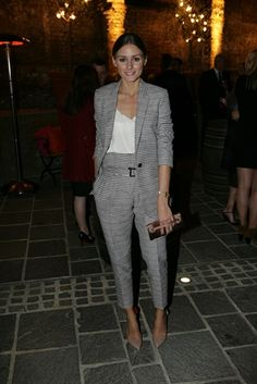 THE OLIVIA PALERMO LOOKBOOK: Olivia Palermo at London Fashion Week : the British Fashion Council Party