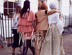 Luxury modest fashion website The Modist debuts via @wgsn_official