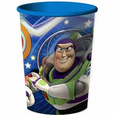 Reach for the sky! The Toy Story Game Time Favor Cup is a perfect place to stash your party loot. This fun cup features Woody and Buzz having a fun adventure, on a bright blue cup. The plastic cup hol Birthday Star, Toy Story Birthday, Birthday Party Themes, Toy Story Game, Toy Story Party, Blue Cups, Buy Toys, Fun Cup, Disney Toys