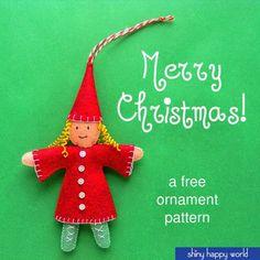 Countdown to Christmas Day 10: Christmas Elf Girl