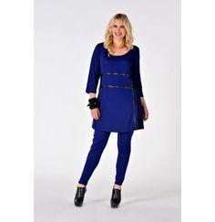 Tunic seams INTERLOCK - Yoek Plus size fashion Grote maten mode winter 13/14