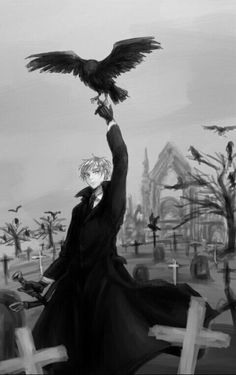 Axis Powers Hetalia: England ll Arthur Kirkland <--- This reminds me of 'The Raven' by Edgar Allen Poe Latin Hetalia, Hetalia England, Hetalia Characters, Hetalia Axis Powers, Usuk, Prussia, Beautiful World, Great Britain, Anime Guys
