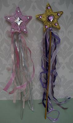 www.partofyourworldprincessparties.com Princess/ Fairy Wand Craft