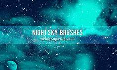 100 #brushes para Photoshop de rayos y estrellas