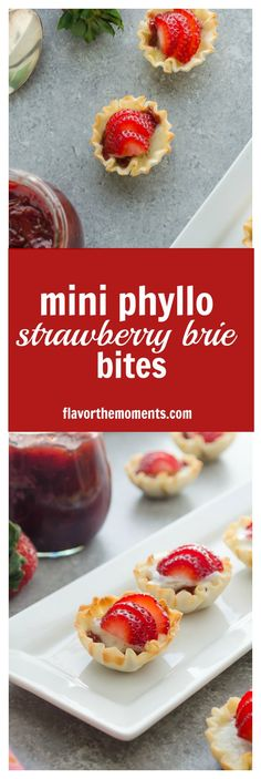 ... Easy Desserts on Pinterest | Phyllo Cups, Phyllo Dough and Strudel