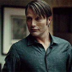 Mads Mikkelsen Defense Squad™, mikkelsenmads:   Hannibal Lecter +smiles