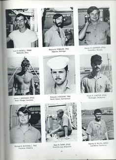 Page 3 of men who served in A/S Division on the USS Goldsborough (DDG20)
