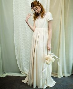 Empire Waist Silhouette Wedding Gown