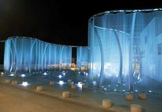 Silent movie –проект ограждения здания Swarovski в Ваттенсе, Австрия