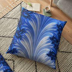 Fractal Art, Fractals, Floor Pillows, Throw Pillows, Digital Art, My Arts, Art Prints, Printed, Awesome