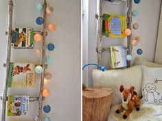 Reciclado creativo para una habitación infantil