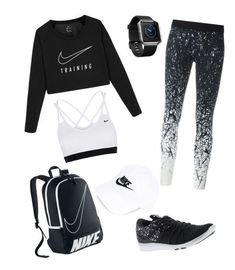 sporty outfits for school Workout Attire Fitnessgoals Outfits school Sporty Cute Workout Outfits, Cute Lazy Outfits, Workout Attire, Trendy Outfits, Girls Fashion Clothes, Teen Fashion Outfits, Outfits For Teens, Nike Outfits, Dance Outfits