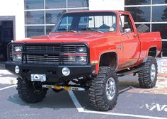 83+chevy+truck+offroad+lights   Thread: Anybody done this- ARB front bumper on a 73-87 GM fullsize?