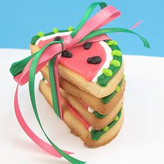 watermelon cookies....party favors?
