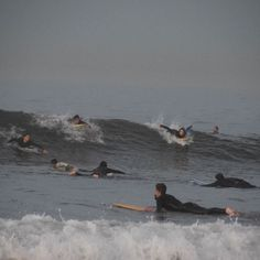 It's busy out there #surfers #venicebeach  #6:30am