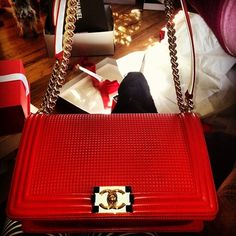 #WholesaleMKCheap.com, Chanel bags for cheap,  Red Hot Chanel ~ Jacque Reid