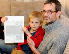 Ever been invited to a party but you couldn't make it? Ever been BILLED for your non-attendance? Five-year-old Alex Nash just was and his dad's not happy.