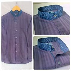 RENVOYER MEN!! MRP. 1099/- Product code. RR15MF016PR.SH- SILVER GREY PURPLE EFFECT SELF FEGGOTTED COTTON SHIRT WITH PAISLEY CHINESE COLLAR Size. 42 (XL) #fallfashion #instashopping #instafestival #weddingseason #renvoyerdesigns #renvoyermen #onlineshopping #easyshopping #printlove #lovemenswear #mensfashion #highfashionliving #luxury #shirtfashion #eveningwear #cotton #motherofpearlbuttons #classymen #followitslines #menstrend #renvoyergentlemen #passionformenswear #byshivanikasaundhan