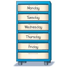 Organization Tip: planning This organizational tip makes it easy to prepare for the days ahead! Label each drawer in a small six-drawer filing cabinet with a day of the school week. After completing your lesson plans, gather the needed reproducibles, transparencies, and other materials for each day's lessons and place them in the corresponding drawer. In the sixth drawer place miscellaneous materials or sponge activities. Then simply pull out the necessary materials each morning and you're…